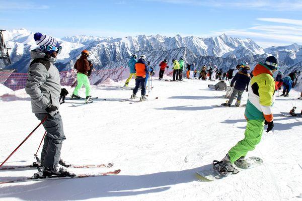 Ouverture de la station de ski de Cauterets en 2017