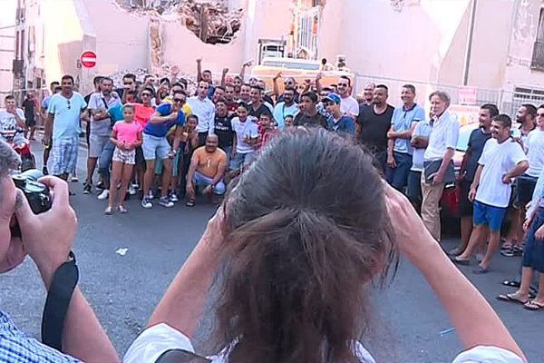 Perpignan - la réhabilitation du quartier historique Saint-Jacques fait polémique - juillet 2018.