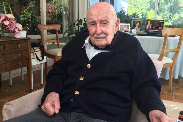 Francis Beltrami, l'inventeur de l'agenda Quo Vadis, a 100 ans
