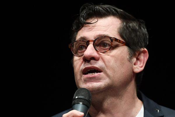 Olivier Py, le directeur du festival d'Avignon, en mars dernier.
