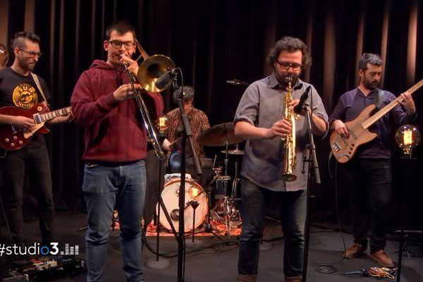 Le groupe de jazz bisontin Potlatch navigue entre les styles et les cultures.
