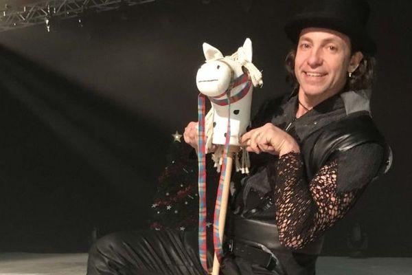 Philippe Candeloro, sera le président du 2e mondial cheval à 2 pattes aux Herbiers en Vendée