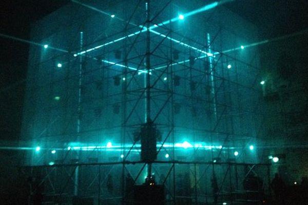 Tesseract - ©1024 Architecture - , installation multi-sensorielle, à découvrir à la Base sous-marine jusqu'au 18/10/14