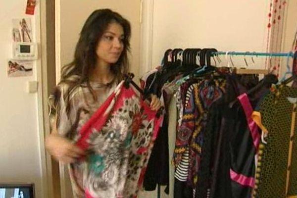 Annegeza, une toute jeune créatrice de mode lauréate du concours Talents des cités