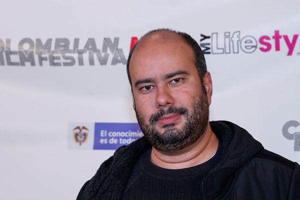 Le réalisateur colombien Ciro Guerra le 28 mars dernier, à l'ouverture de la 7e édition du festival du film colombien à New York.