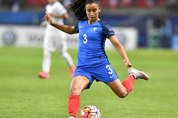 Sakina Karchaoui (MHSC) sera en défense lors de l'Euro-2017 aux Pays-Bas de juillet à août 2017