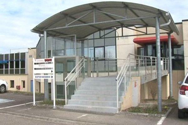 """Les locaux du """"Populaire du Centre"""" à Limoges"""