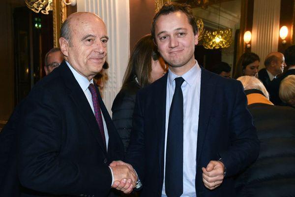 Le maire LR de Bordeaux a apporté son soutien au conseiller départemental du Finistère Maël de Calan, candidat breton à la présidence Les Républicains - 5/12/2017
