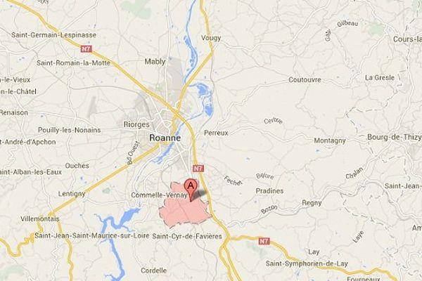 Le drame à Parigny, commune située au sud de Roanne (Loire)
