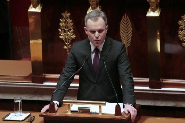 François de Rugy à  l'Assemblée Nationale