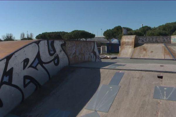 A La Rochelle, le skatepark de Port Neuf est obsolète