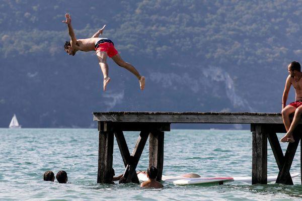 De nombreuses noyades sont à déplorer en Savoie et Haute-Savoie depuis le début de l'épisode caniculaire. Photo d'illustration.