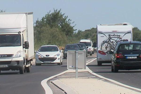 La départementale 61, qui relie Lunel à La Grande-Motte est l'une des portions routières les plus meurtrières de la région, avec 14 morts entre 2007 et 2018.
