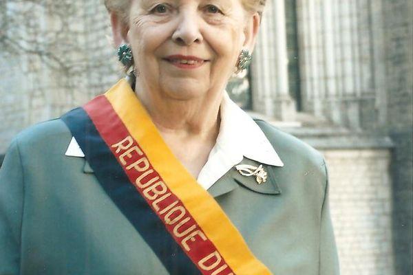 Sa Présidente Georgette Bertin-Pourchet