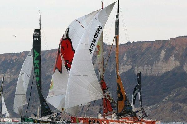 La prochaine Transat Jacques Vabre, qui part du Havre, pourrait arriver en 2013 au Brésil.