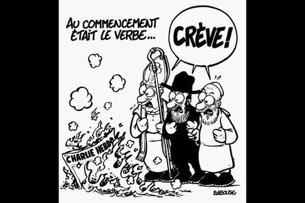 Un dessin de Babouse publié dans Charlie Hebdo.
