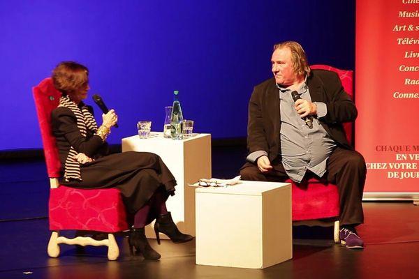 Gérard Depardieu s'est expliqué lundi lors d'une rencontre organisée par Télérama au Théâtre du Rond-Point.