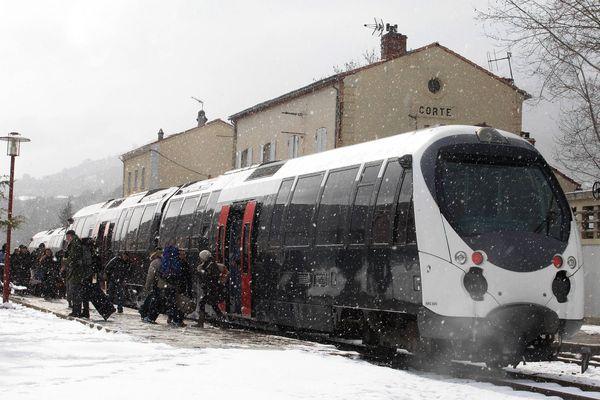 La gestion des chemins de fer de la Corse dans la tempête