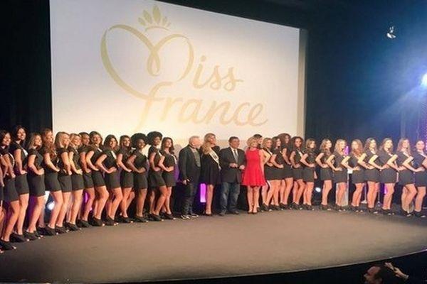 Les 31 candidates pour l'élection Miss France 2016