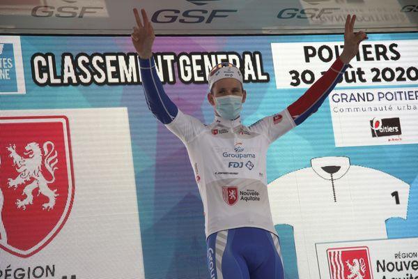 Arnaud Démare, vainqueur du Tour Poitou-Charentes 2020