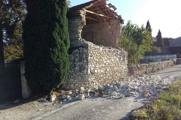15 communes ardéchoises supplémentaires sont désormais reconnues en état de catastrophe naturelle suite au tremblement de terre du 11 novembre en Drôme-Ardèche.
