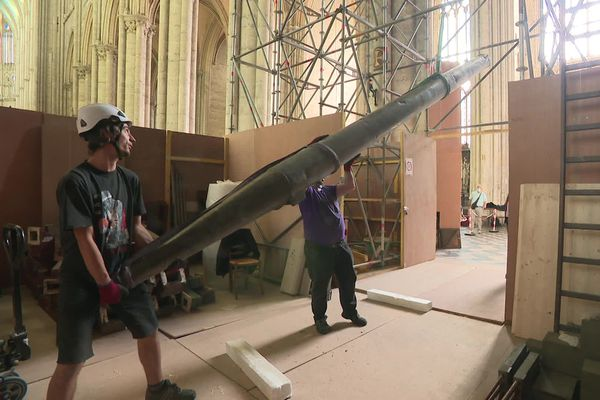 L'orgue de la cathédrale est composé de plus de 3000 tuyaux