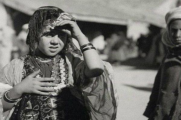 Jeune fille, Aurès. photographie de Germaine Tillion.
