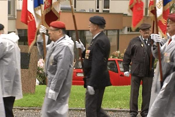 La cérémonie commémorative à Rennes