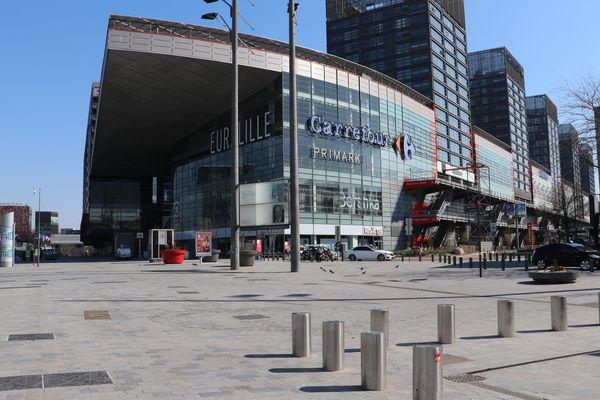 Le centre commercial Westfield Euralille accueillera de nouveau du public dès lundi 11 mai.