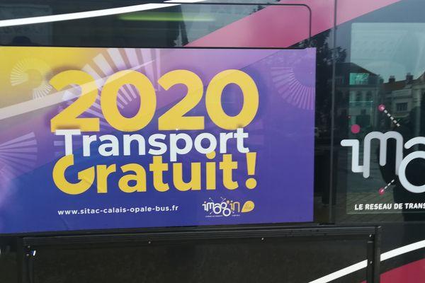 Les bus gratuits à Calais
