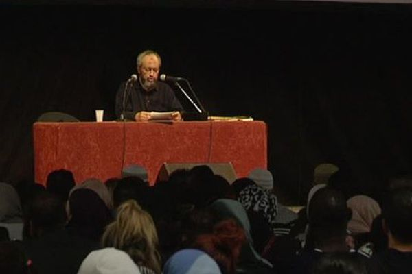 Hani Ramadan au 4ème rassemblement annuel à Montpellier pour l'union des musulmans de l'Hérault - 17 avril 2016.