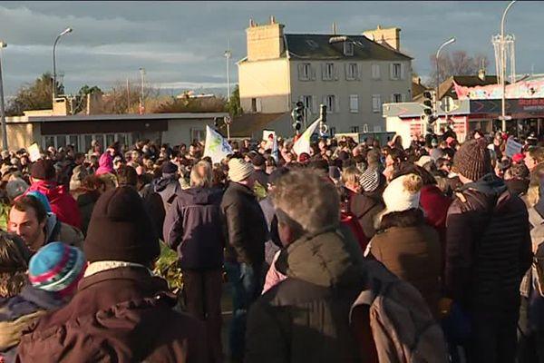 Rassemblement de Ouistreham, samedi 16 décembre 2017