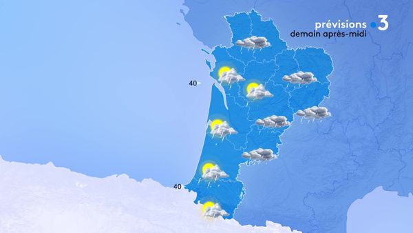Les averses vont s'intensifier un peu partout mais les éclaircies reviendront par l'Ouest de la région en fin de journée.