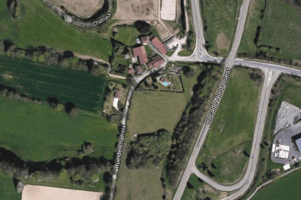 Accident sur la RN520 contournement nord-ouest de Limoges
