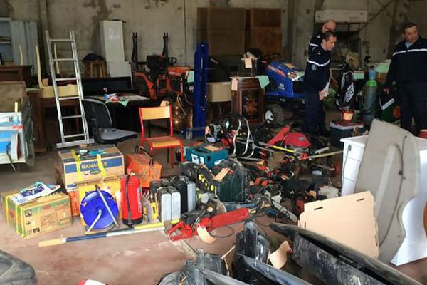 La gendarmerie de l'Yonne publie régulièrement des photos des objets volés, récupérés lors de perquisitions afin de retrouver plus rapidement leurs propriétaires.