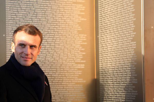 Le président s'est rendu sur les principaux lieux de mémoire des Hauts-de-France.