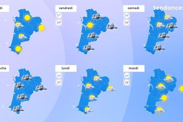 Dégradation et baisse des températures à partir de jeudi