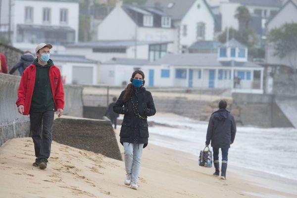 Le Finistère est le département de France où les habitants ont le moins été exposé au Covid.
