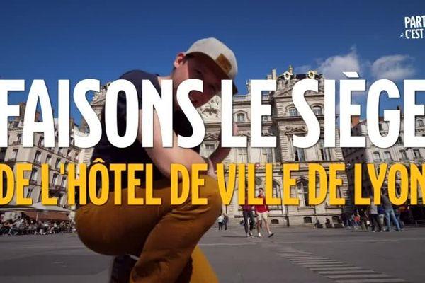 Ce samedi 8 septembre, la mobilisation pour le Climat. A Lyon, c'est un appel à faire le siège de l'Hôtel de Ville qui a été lancé sur les réseaux sociaux