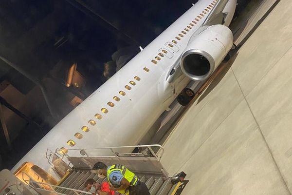 Ce n'est qu'à 22 heures, soit 14 heures plus tard, qu'un avion a décollé de Bastia pour Lille.