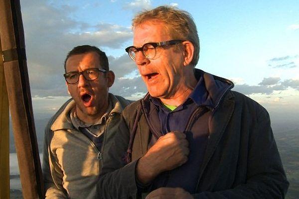 Dany Boon et Dick Annegarn au-dessus du Comminges