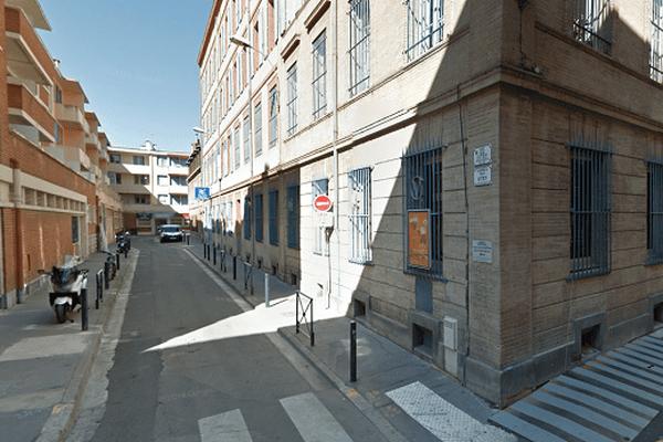 La rue Urbain Vitry à Toulouse
