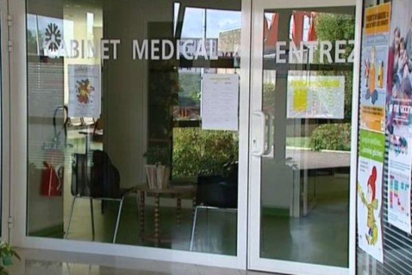 Le cabinet médical de Château-Chinon dans la Nièvre n'est plus vide depuis le 1er septembre 2015.