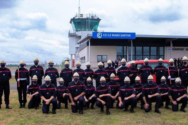 Le défilé du 14-juillet mettra un terme à la préparation de quatre mois des pompiers de la Région Centre-Val de Loire.