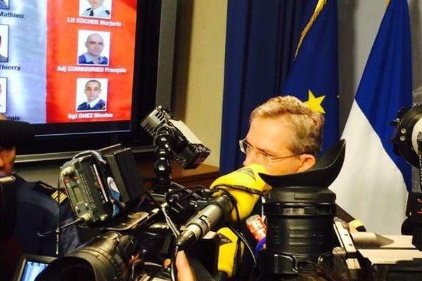 Le Général Mercier,CEMAA, le 29/01/2015