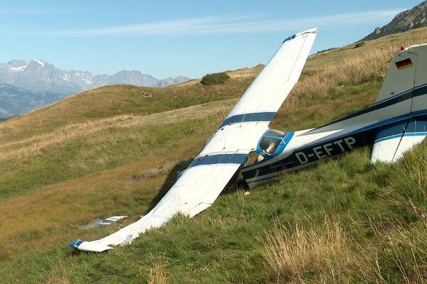 Hautes-Alpes : deux avions de tourisme s'écrasent sur le domaine skiable de Vars. Ils devaient rejoindre Barcelonnette