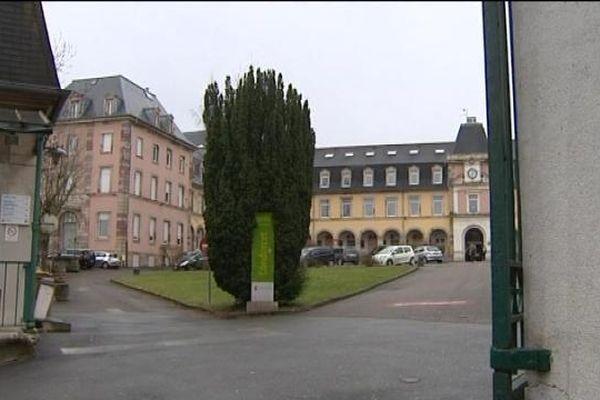 Le lycée Condorcet à Belfort