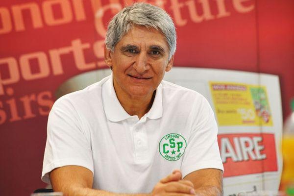 Panagiotis Giannakis, entraineur du Limoges Csp, est encore en contrat avec le club pour un an