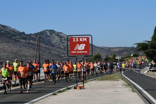La course 2016 au 13e kilomètre.