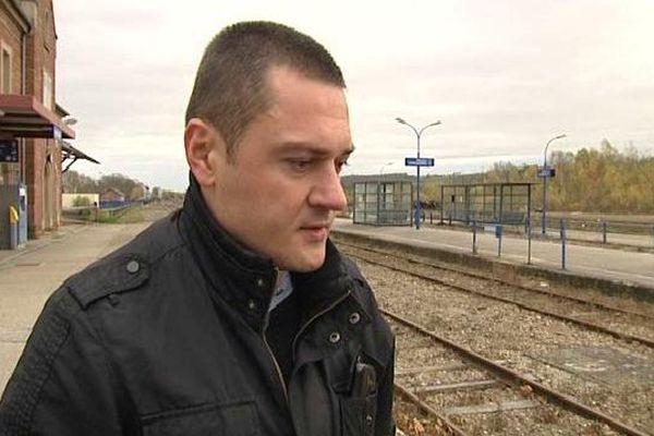 Christophe Béclier, secrétaire régional UNSA ferroviaire